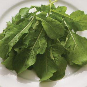 Anti-inflammatory arugula is packed with fiber, Vitamin A, Vitamin C, Vitamin K, magnesium, and more!